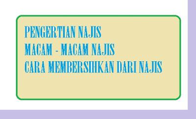 Pengertian najis dan macam - macam najis - pustakapengetahuan.com
