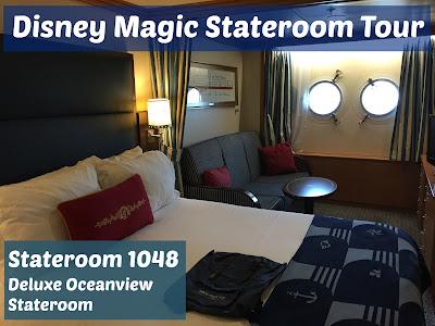 Disney Magic stateroom tour