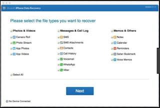 برنامج, إستعادة, وإسترداد, الملفات, المحذوفة, من, الايفون, والايباد, iPhone ,Data ,Recovery