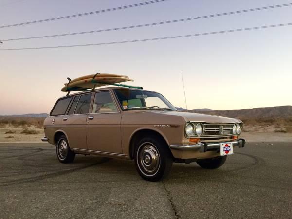 Palm Desert Nissan >> Immaculate 1969 Datsun PL510 Wagon | Auto Restorationice