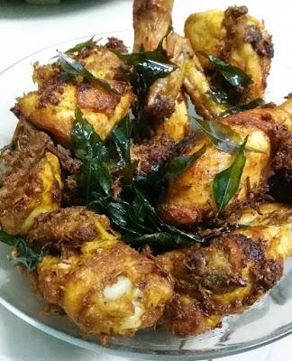 Resepi Ayam Goreng Berempah Yang Paling Senang Dimasak
