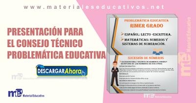 Presentación para el consejo técnico problemática educativa