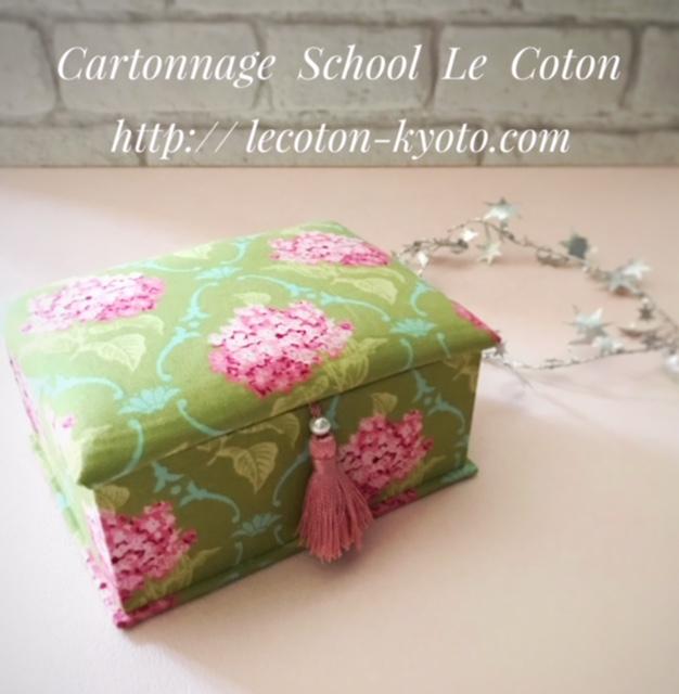 カルトナージュ教室:フレンチスタイル