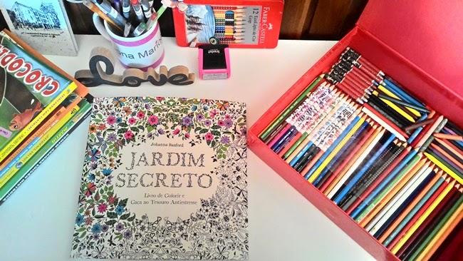 Jardim Secreto, Jardim, Livros, Sextante, Editora Sextante, Editora, Pinturas, Relaxamento, Atividades Pedagógicas, Criatividade,