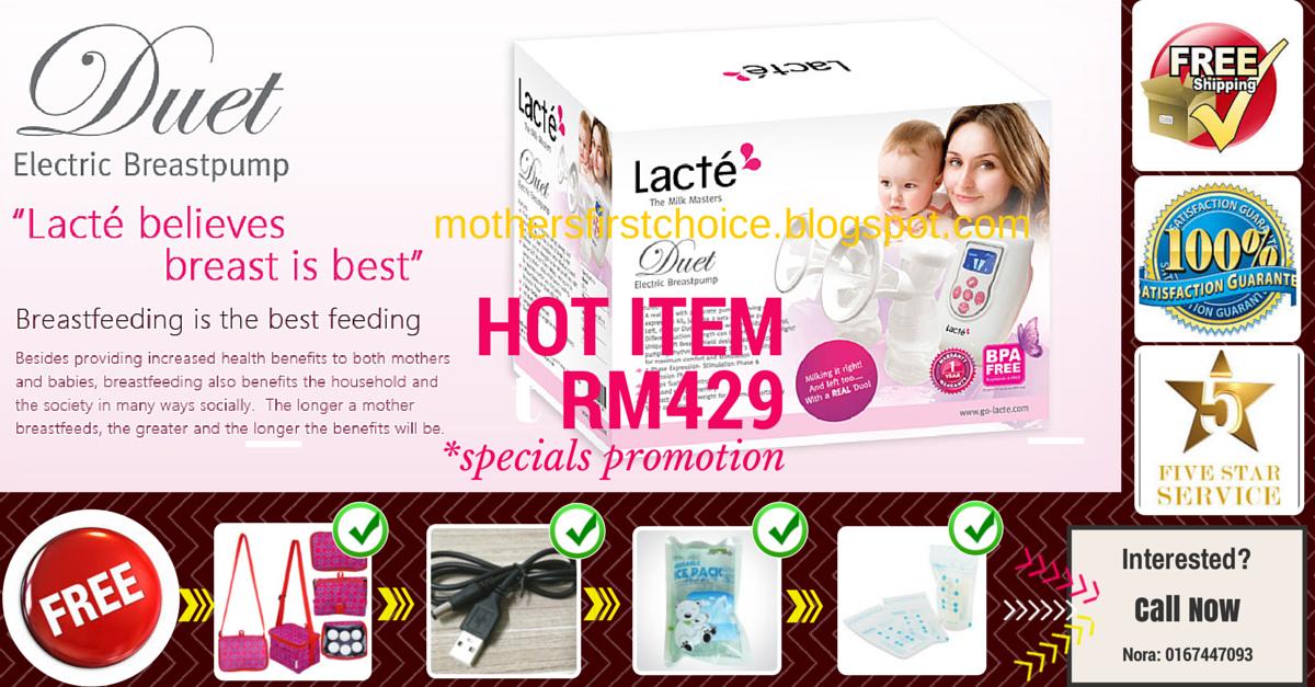 LACTE DUET (Double Electric Breast Pump)