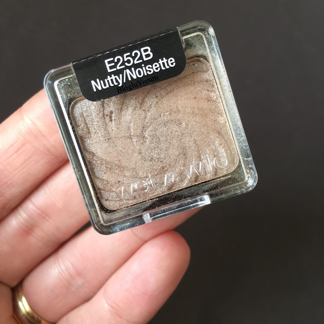 wet n wild color icon nutty far incelemesi