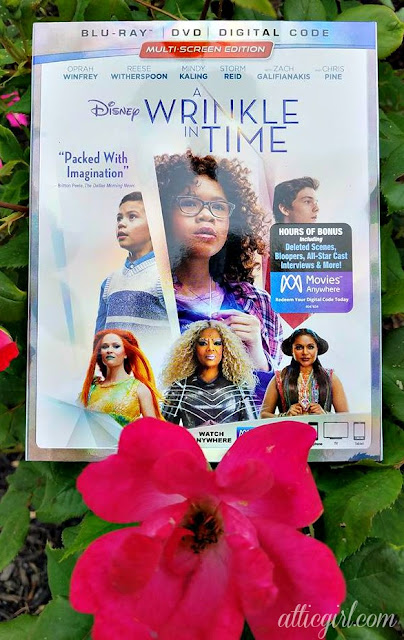 Madeleine L'Engle, Disney movies, tween movies, Oprah Winfrey, Reece Witherspoon, Storm Reid, Mindy Kaling, books made into movies, book to film adaptations