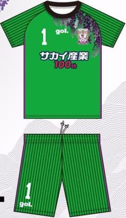藤枝MYFC 2018 ユニフォーム-ゴールキーパー-2nd