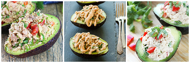 Tuna Stuffed Avocado Recipes: 17 Ideas for Using Canned Tuna Round-Up
