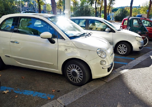 Carros estacionados