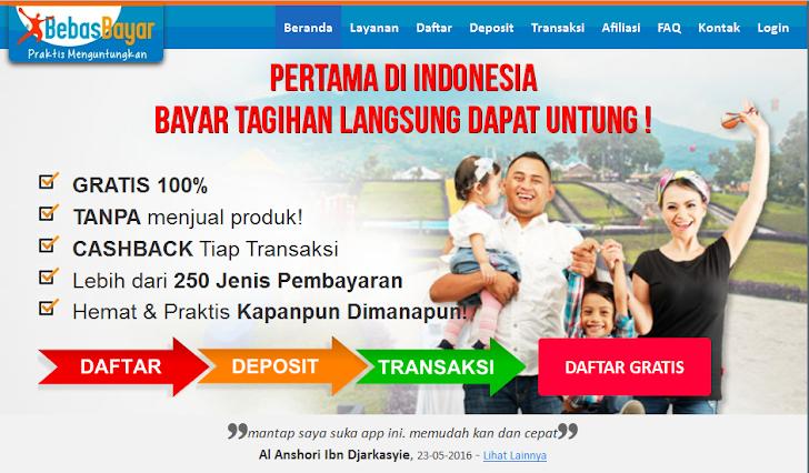 bebasbayar solusi masalah keuangan hanya dengan satu klik