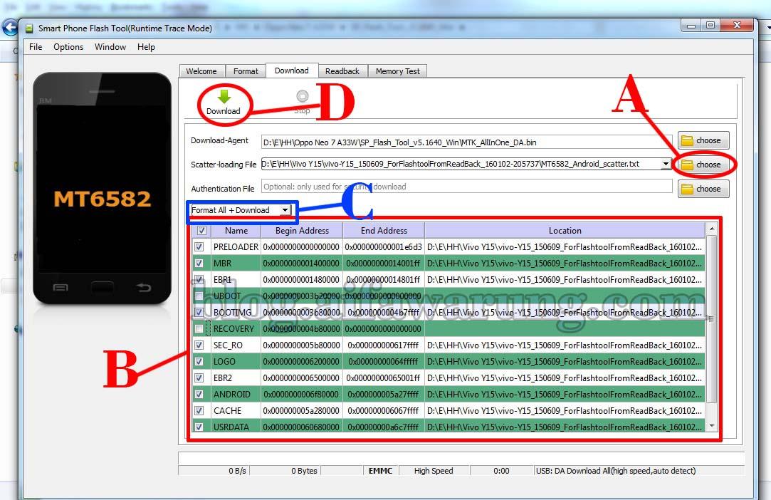 Cara Flash Atau Install Ulang Oppo Neo 7 A33w