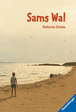 """In meinem neuesten Bücherboot stelle ich Euch zahlreiche Kinderbücher zum Thema """"Wale"""" vor. Und auch für die Eltern bzw. Erwachsenen ist etwas dabei :) Jedes der vorgestellten Kinder- und Jugendbücher darf ich am Ende des Posts auch an Euch verlosen - damit Ihr voller Wal-Faszination schmökern könnt! Hier seht Ihr übrigens das Cover zu """"Sams Wal""""."""