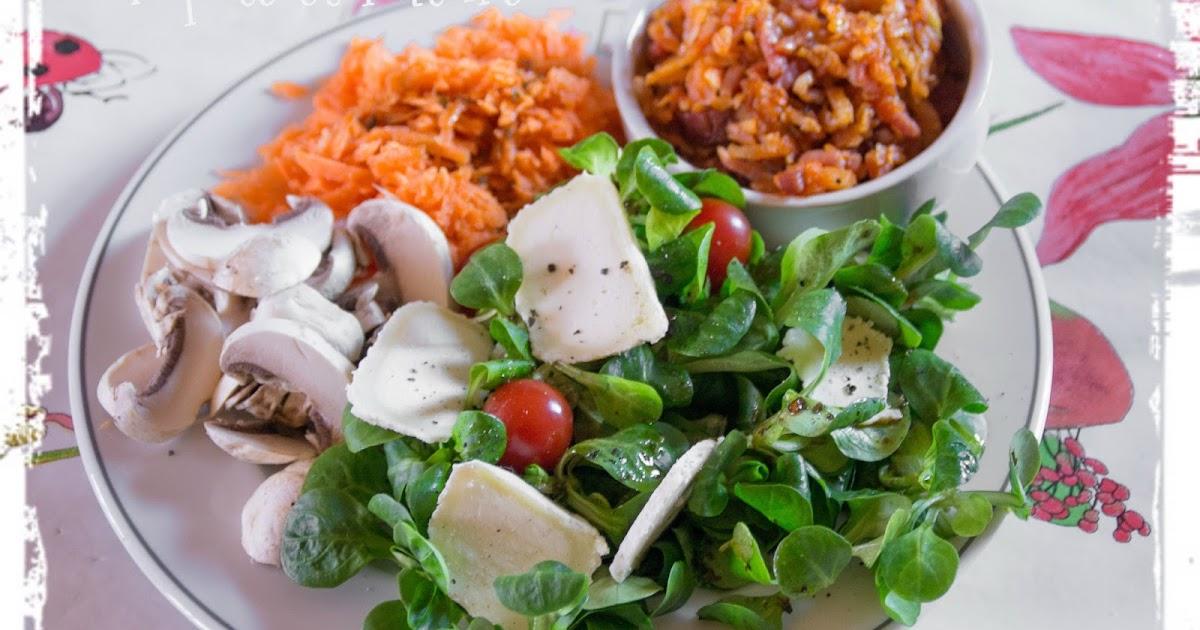 popote et nature une salade vitamin e et color e la betterave et au chorizo et au ch vre. Black Bedroom Furniture Sets. Home Design Ideas