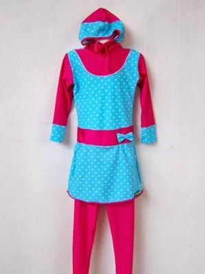 Desain Baju Renang Muslim Anak Terbaru Imut dan Lucu