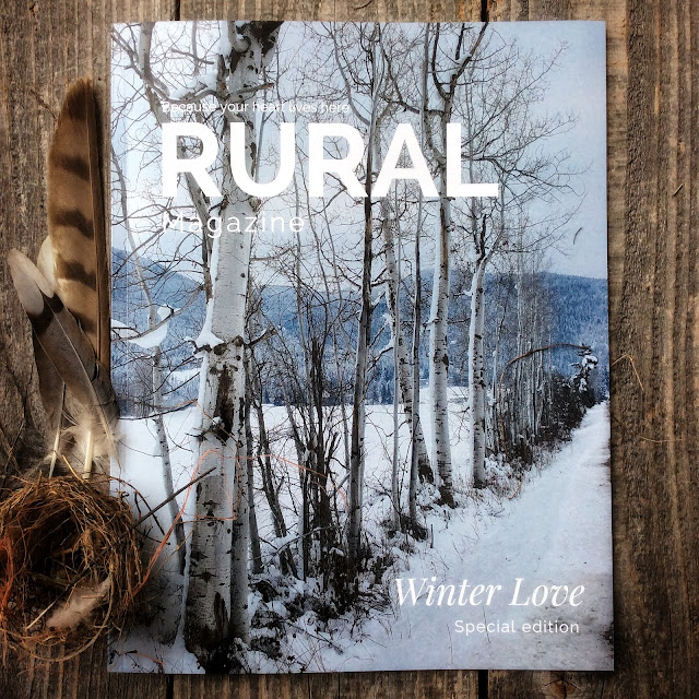 Winter Love print copy of rural magazine www.ruralmag.com