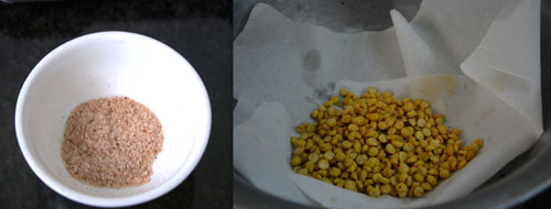 how to make chana dal snack