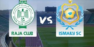 مشاهدة مباراة الرجاء و الإسماعيلي مباشر اليوم يلا شوت كأس العرب للأندية الأبطال