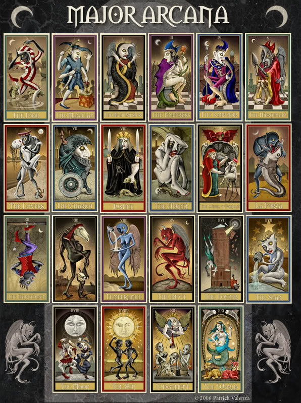 Out Of The Shadows: Deviant Moon Tarot