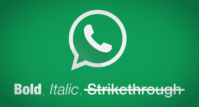 Trik Sederhana Membuat Huruf Tebal, Miring dan Strikethrough di Whatsapp