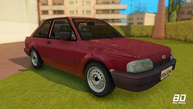 Download mod carro Ford Escort Hobby 1996 para GTA San Andreas