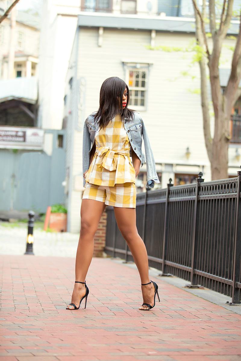ann taylor gingham, www.jadore-fashion.com