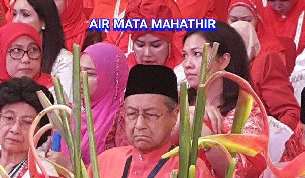 Air mata Mahathir