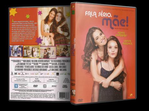 Capa DVD Fala Sério, Mãe!