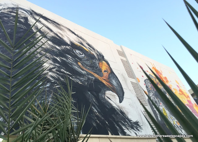 falcon painting in Karama Dubai
