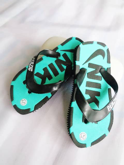 Sandal SPON Jepit ABBE BaBy HIJAU MUDA