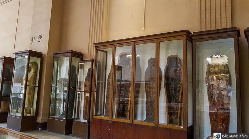 Mais peças do acervo do Museu do Cairo