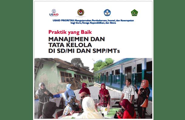 Buku Praktik yang Baik Manajemen dan Tata Kelola di SD/MI dan SMP/MTs