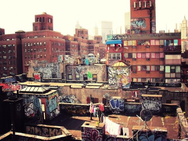 Seni bawah tanah di NYC