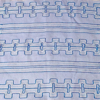 Vintage Swedish weaving sample