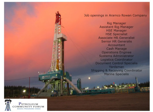 Job openings in Aramco Rowan Company ARO