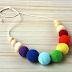 Collar de lactancia - Modelo Arco Iris
