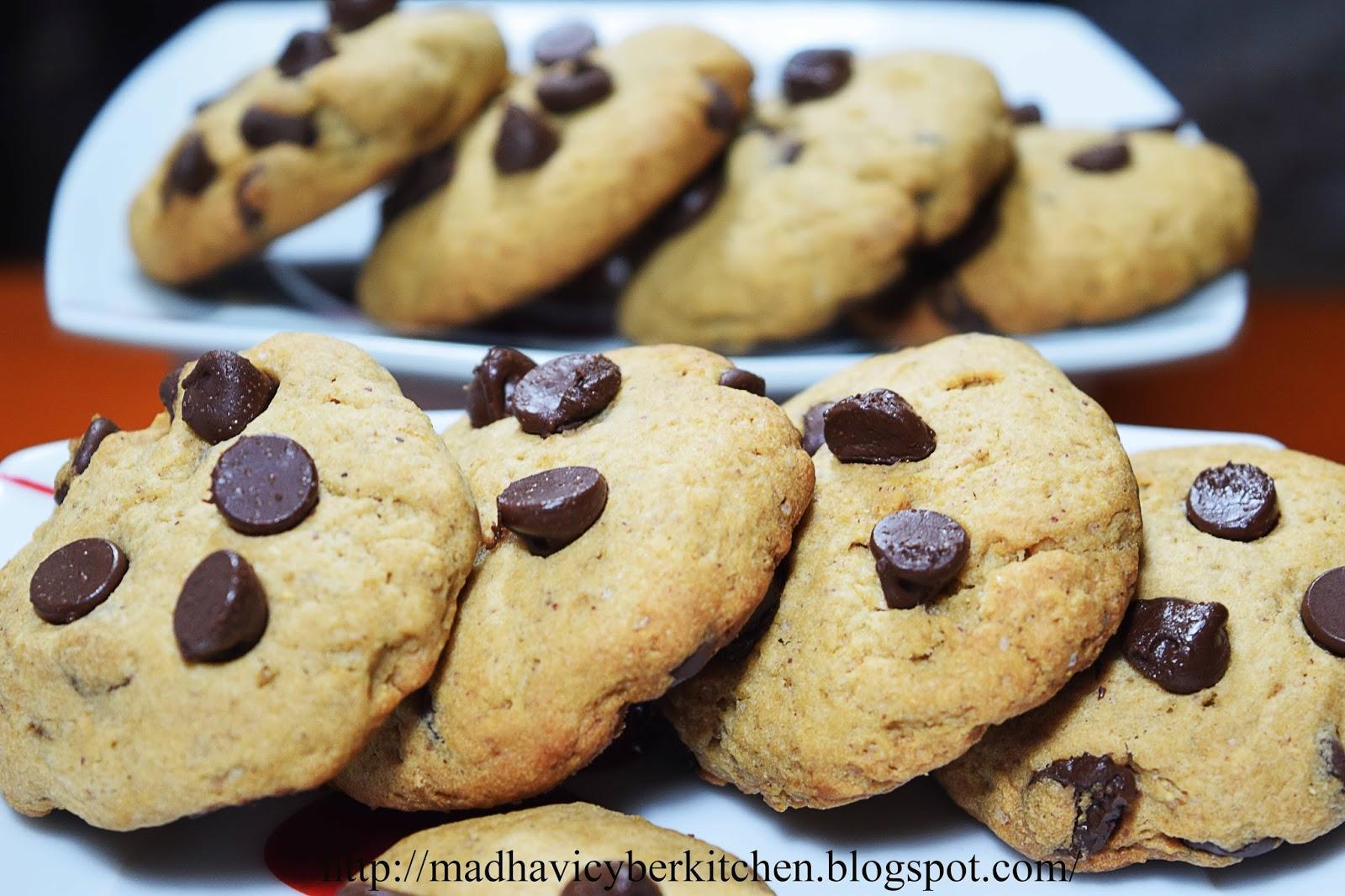 Chestnut Flour Chocolate Chip Cookies