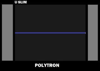 Polytron Ultra Slim PS 52UV81 IC Vertikal Jebol Terus