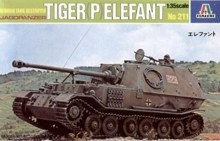 Elefant Tiger