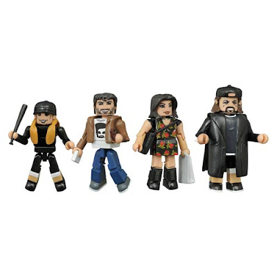 Mallrats Minimates Series 1 Box Set by Diamond Select Toys - Jay and Silent Bob, Rene & Brodie