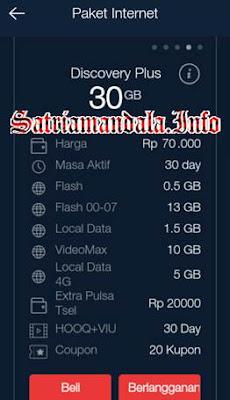 Paket Murah Via Aplikasi Telkomsel