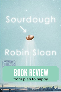Gosh darn it, I love a quirky book. Sourdough by Robin Sloan is just that. The San Francisco references abound, I could almost taste the bread, and I feel like I want to take up baking again. In sum, I loved this book.