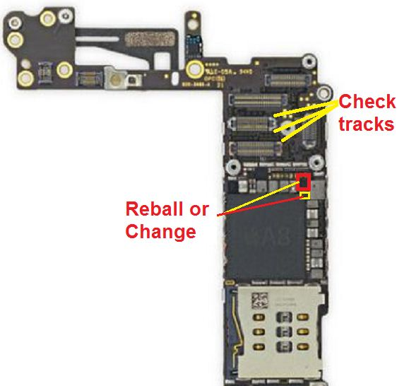 How to fix iPhone 6 no light on screen