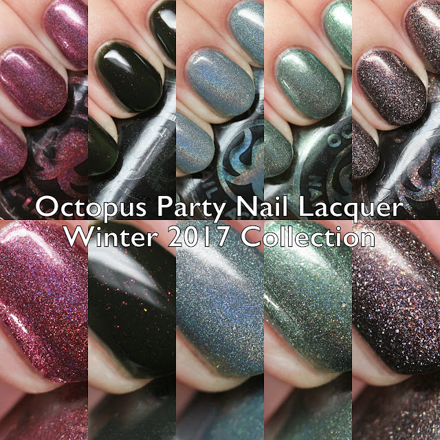Octopus Party Nail Lacquer Winter 2017 Collection