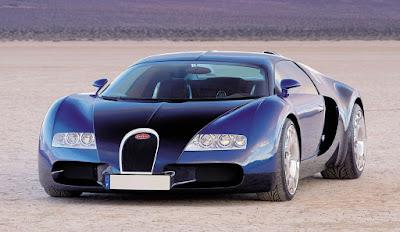 Bugatti Veyron - 253mph