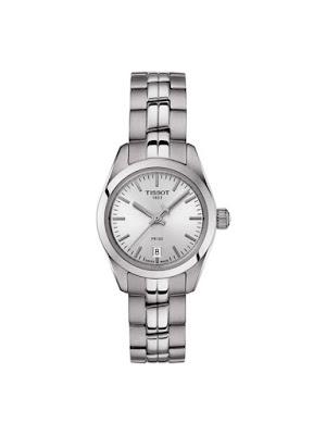 Ceas argintiu metalic de dama Tissot T1010101103100