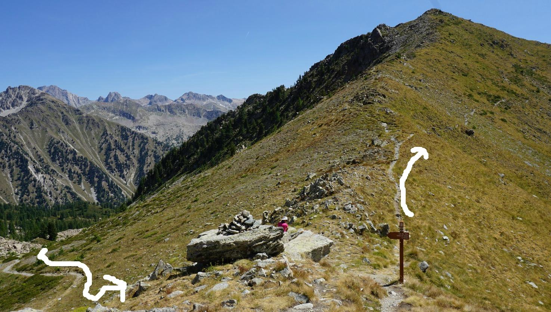 Col de la Valette des Adus 2356 m