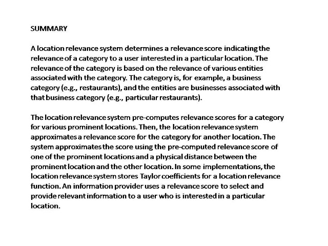 relevancy score summary