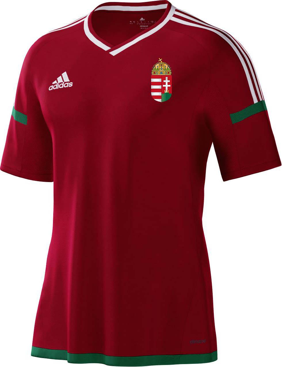 Adidas apresenta as novas camisas da Hungria - Show de Camisas fd8f11f11d22b