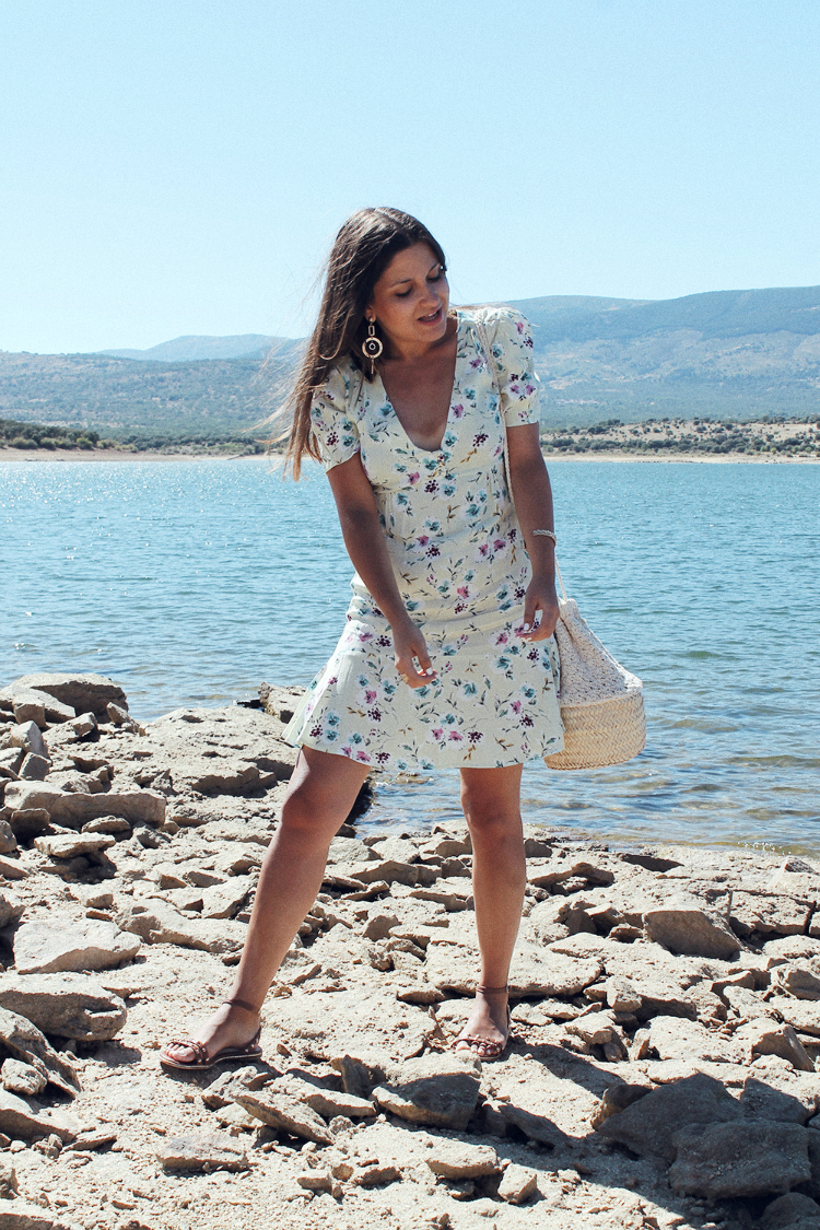 Vestido de flores verano blog de moda